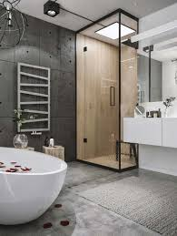 Bathroom Ideas Modern Chic Industrial Loft In Lithuania Gets Modern Updates Industrial