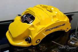 lexus yellow brake calipers brake caliper refinishing ideas u0026 lots of photos 6speedonline