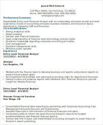 Actuarial Resume Example by Entry Level Resumes Finance 11 Resume Objective For Accounts