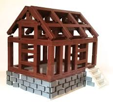 wood lego house moc medieval house for rookies lego historic themes