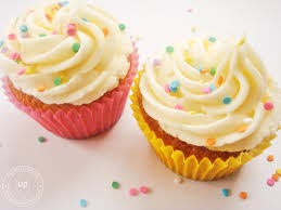 Frosting Recipe For Decorating Cupcakes Recipe Vanilla Cupcakes With Vanilla Buttercream Frosting