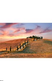 tuscany landscape wall mural