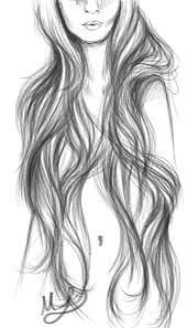 sketches of hair hair megan leitschuh
