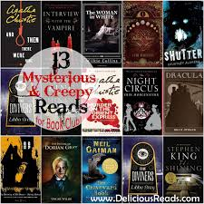 delicious reads 13 mysterious scary october reads for book club