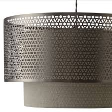 buy john lewis meena fretwork steel pendant light john lewis