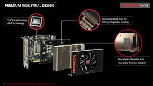 vapor chamber gpu cpu heat sink set meet the radeon r9 nano the amd radeon r9 nano review the power