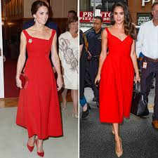 Kate Middleton Dress Style From by Meghan Markle Now Outranks Kate Middleton U0027s Style Instyle Com