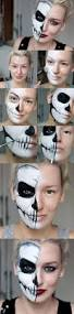 Halloween Skeleton Faces by Top 25 Best Skull Makeup Ideas On Pinterest Halloween Skull