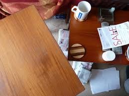 How To Get Wax Off Wood Table How To Restore Wooden Tables Furniture 10 Steps With Pictures