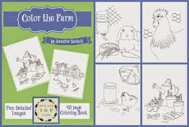 iron oak farm coloring book