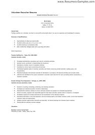 Resume Volunteer Work Interesting Volunteer Work On A Resume 40 For Your Skills For