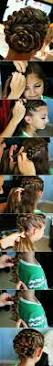 How To Make Easy Hairstyles At Home by 25 Best Rose Bun Ideas On Pinterest Cute Simple Hairstyles