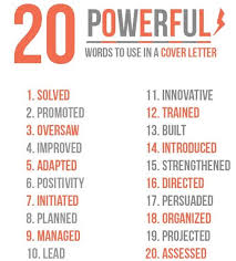 Power Verbs For Your Resume Ideas Of Cover Letter Power Verbs With Description Huanyii Com