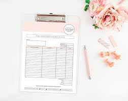 photography invoice template photography forms photography
