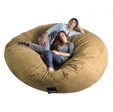 unusual com large sheepskin bean bag chair filled lovesac related