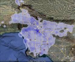 Los Angeles County Zoning Map by The La Subway Blog 2010