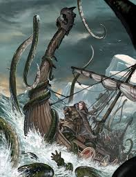 kraken by benwootten deviantart com on deviantart vikings