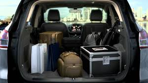 ford explorer trunk space ford escape cargo space