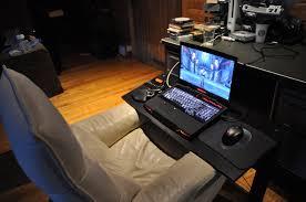 bureau fait maison bureau pc gamer grand bureau gamer le des geeks et des gamers