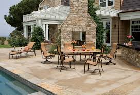 Outdoor Patio Furniture Manufacturers by Furniture Fill Your Patio With Mesmerizing Tropitone Furniture