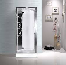 Small Shower Stalls by Complete Enclosed Shower Cubicles For Small Bathrooms Modular