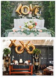 wedding backdrop letters gold wedding balloons for sale