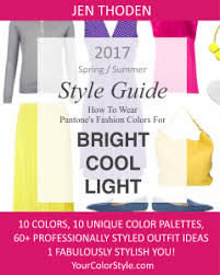 trending color palettes bright cool light 2017 spring summer pantone color style guide