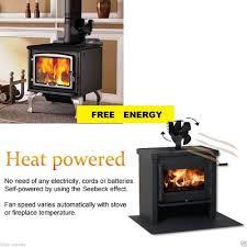 ecofan wood stove fan incredible ecofan airmax heat powered wood stove fan black colored