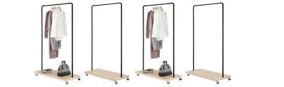 amazon com whitmor slat wood garment rack home u0026 kitchen