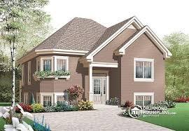 Split Level Style House Plan W3322 Detail From Drummondhouseplans Com