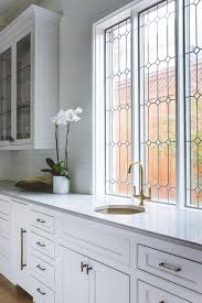white leaded glass kitchen cabinets leaded glass kitchen cabinets design ideas