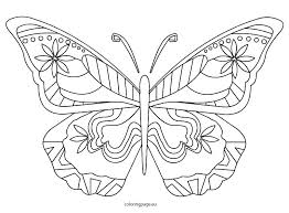 coloring page butterfly monarch butterfly coloring pages print monarch butterfly coloring pages