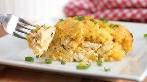 southern chicken cornbread casserole recipe bettycrocker com