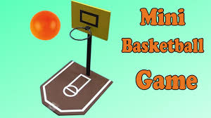 diy mini basketball game easy experiments youtube