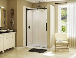 Maax Shower Door Maax Halo 44 1 2 47 Sliding 2 Panel Shower Door At Menards