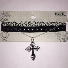 new necklace set images Mudd jewelry new 3 choker necklace set poshmark jpg