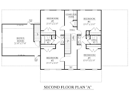 Traditional Floor Plan House Plan 3120 C Pendleton Second Floor Traditional Brick