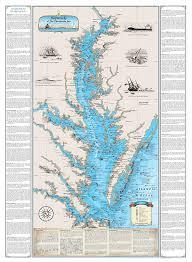 Norfolk Virginia Map by Amazon Com Chesapeake Bay Shipwreck Chart Harve De Grace To