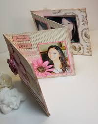 small scrapbook album inspired and unscripted and mini scrapbook album