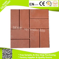 china selling rubber patio tiles driveway recycled rubber