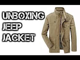 jeep rich jacket unboxing jeep jacket khaki taobao timtao youtube