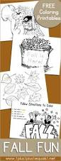 free fall fun coloring coloring pages and coloring activities