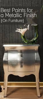 best paint for furniture best paints for a metallic finish hometalk