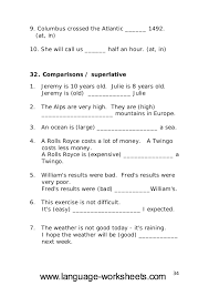 grammar worksheets secondary