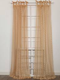 Gold Curtain Nanette Embroidered Net Curtain Gold Your Home Curtains