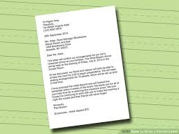 patriotexpressus surprising how to write a formal letter with