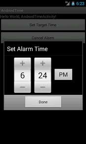 how to set alarm on android alarm using timepicker androidcheckinfo