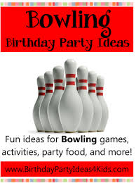 Diy Bowling Favors by Bowling Birthday Theme Ideas For A Bowling