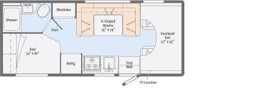 Sportsman Rv Floor Plans Minnie Winnie Floorplans Winnebago Rvs