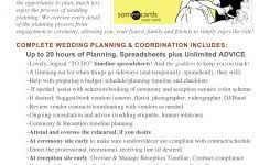 wedding planner packages resume cv cover letter wedding event planner contract sle